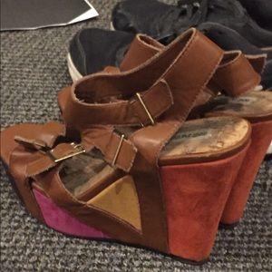 Not Rated heels